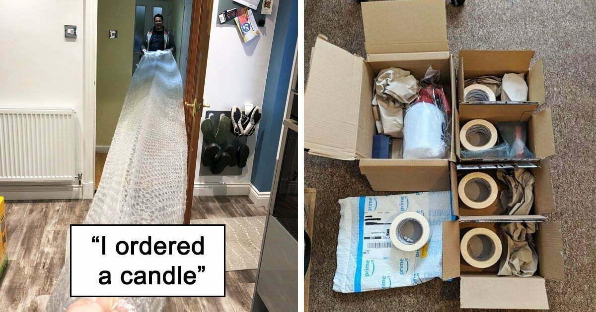 30 Times Unnecessary Packaging Wrap People's Minuscule Orders