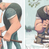 Artist's 12 Illustrations Tell A Heartfelt Story About Loss