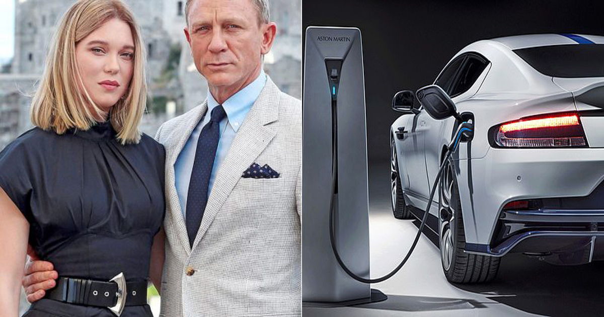James Bond Gets An Electric Car And New Wife Who Refused To Accept His Last Name