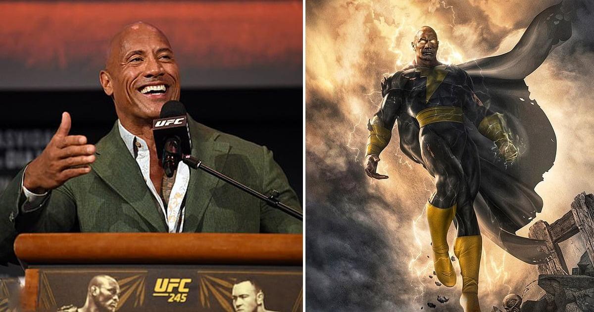 Dwayne Johnson Reveals First Look Of His First-Ever Superhero Flick Black Adam