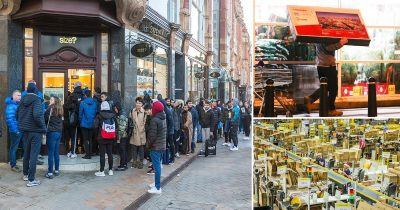 Black Friday Sale! Bargain Hunters Queue From 3.45 AM As Prices Drop As Low As 80% During Black Friday