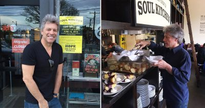 Bon Jovi Opened Two Restaurants That Allow People In Need To Eat Free Of Cost