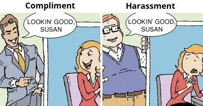 45 Candid Illustrations Depict The Double Standards In Our Society