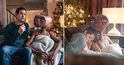 E.T. Reunites With Elliott In Sky's Blockbuster Christmas Advert