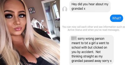 Guy Tries The 'Dead Grandad' Line On Girl And Gets Rejected By The Internet