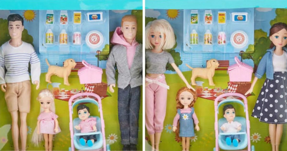 Kmart Launches A New Line Of Family Dolls Featuring Same-Sex Couples, Everyone Loves It