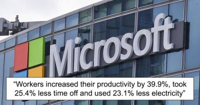 Microsoft Japan 4-Day Workweek Experiment Witnessed A 40% Productivity Increase