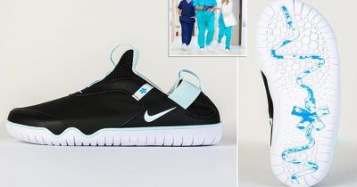 Nike's New 'Air Zoom Pulse' Shoes Allow Doctors And Nurses Go Through 12-Hour Shifts Easily