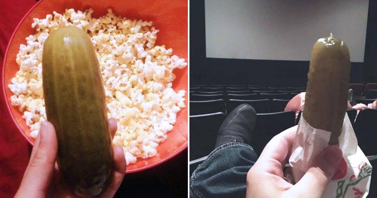 People Eat Pickles At Theaters In Texas And Had No Clue No One Else Does