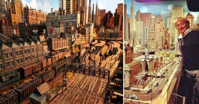 Rod Stewart Reveals His Epic Model Railway City Which Took Him 23 Years To Complete