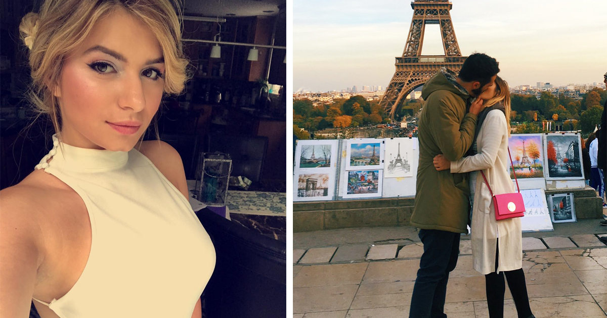 Woman Asks Random Men To Kiss Her In Front Of Landmarks For Romantic Instagram Pictures