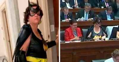 Congresswoman Dressed Up As Batgirl During Impeachment Voting And The Internet Is Divided