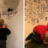 Boy, 9, Got In Trouble For Doodling In Class Gets A Job Decorating A Restaurant With His Drawings