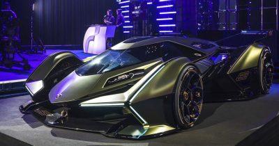 New Lamborghini Concept Appear Like A Futuristic Batmobile