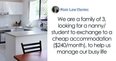 Family's Requirements For A Babysitter Are Insane So They Got Shamed For It