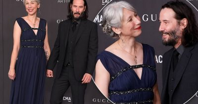 Keanu Reeves, 55, Goes Public With His First GF In Decades