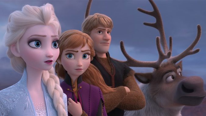 Frozen 2 sets new record on animated movie with record-breaking opening weekend.