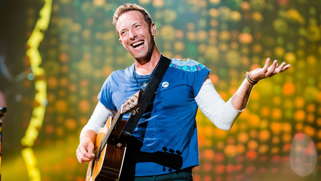 Coldplay Chris Martin won't be holding any concert until they can find a sustainable way.