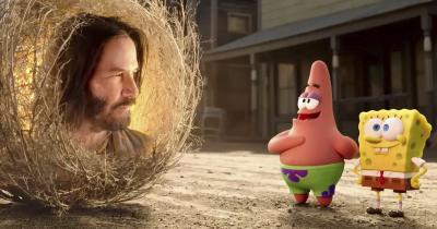 Keanu Reeves Set To Play A Wise Tumbleweed In New Spongebob Squarepants Movie