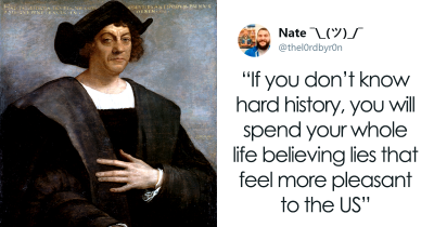 Teacher Doesn't Want To Lie, So He Taught The Untold History Of Columbus, And It's Went Viral
