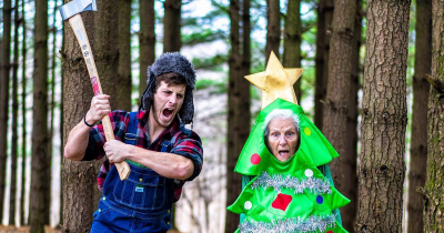 93-Year-Old Grandma and Her Grandson Dress-Up In Hilarious Outfits And The Internet Loves It