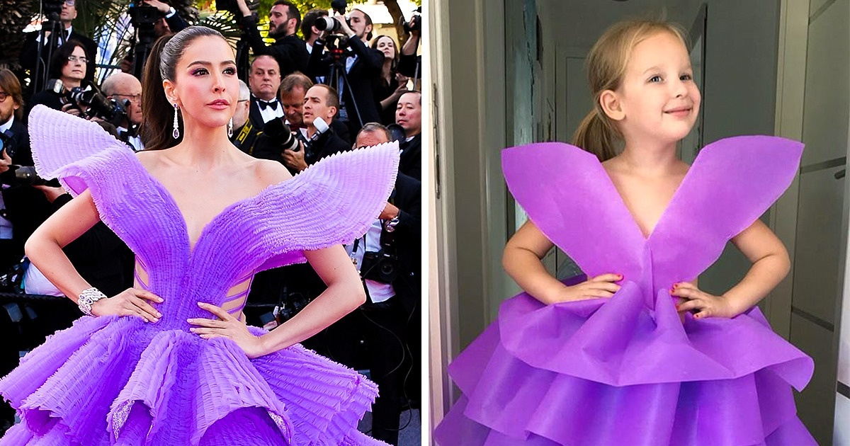 Mom And Her 6-Year-Old Daughter Recreate Red Carpet Outfits And They Look Stunning