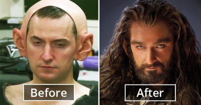 18 Pics Depicting The Magic Of Actors' Transformations