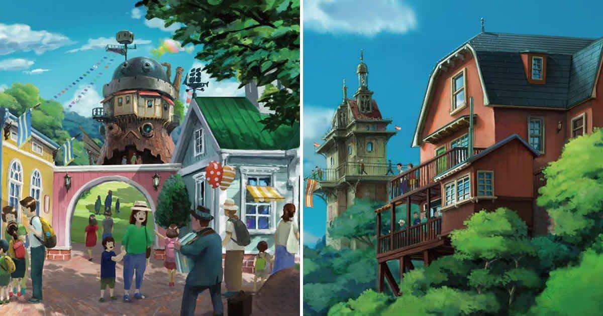 Studio Ghibli Theme Park Set To Launch In 2022