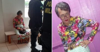 Son Is Caught Dressing Up As His 60-Year-Old Mom So He Could Pass Her Driving Test
