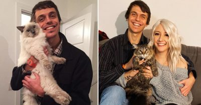 Man Travels 4,000 Miles To Meet Girl Who Liked A Facebook Photo Of His Cat, Now They're Dating