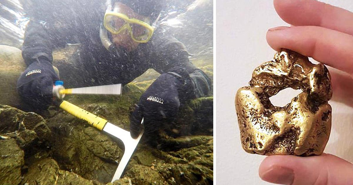 Treasure Hunter Finds Britain's Biggest-Ever 22-Carat Gold Nugget Worth £80,000