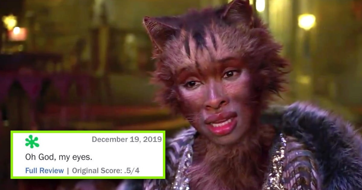 'Cats' movie is receive negative reviews.