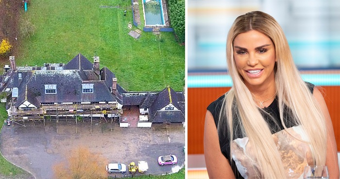 Katie Price At Risk Of Losing Her £2Million Mucky Mansion After Bankruptcy
