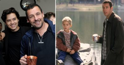 Adam Sandler And Cole Sprouse Reunite 20 Years After 'Big daddy' Debut