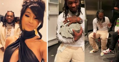 Cardi B Gifts Offset $500K Cash For His Birthday, Gets Slammed By Fans