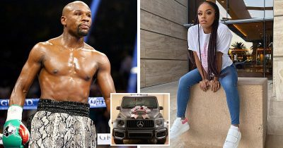Floyd Mayweather gifted his daughter with a $150,000 Mercedes Benz for Christmas.