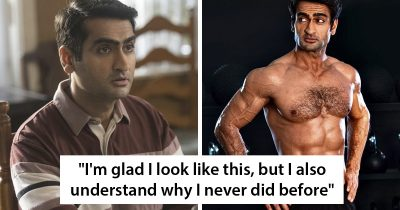 Kumail Ninjiani Shares A Shirtless Photo With Honest Post About Transformation And It Goes Viral