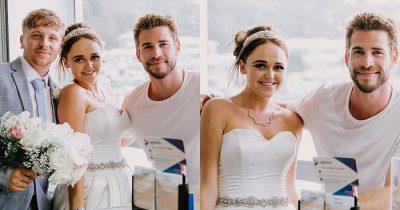 Liam Hemsworth Amazes Superfan Bride At Her Wedding In Gold Coast