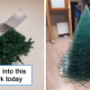 30 Workers From Different Industries Got Creative With Christmas Trees At Workplace