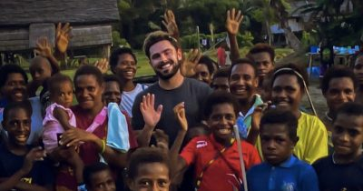 Zac Efron confirms that he was sick in Papua New Guinea but he's back up and healthy.