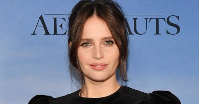 Felicity Jones is confirmed to be pregnant with her first child.