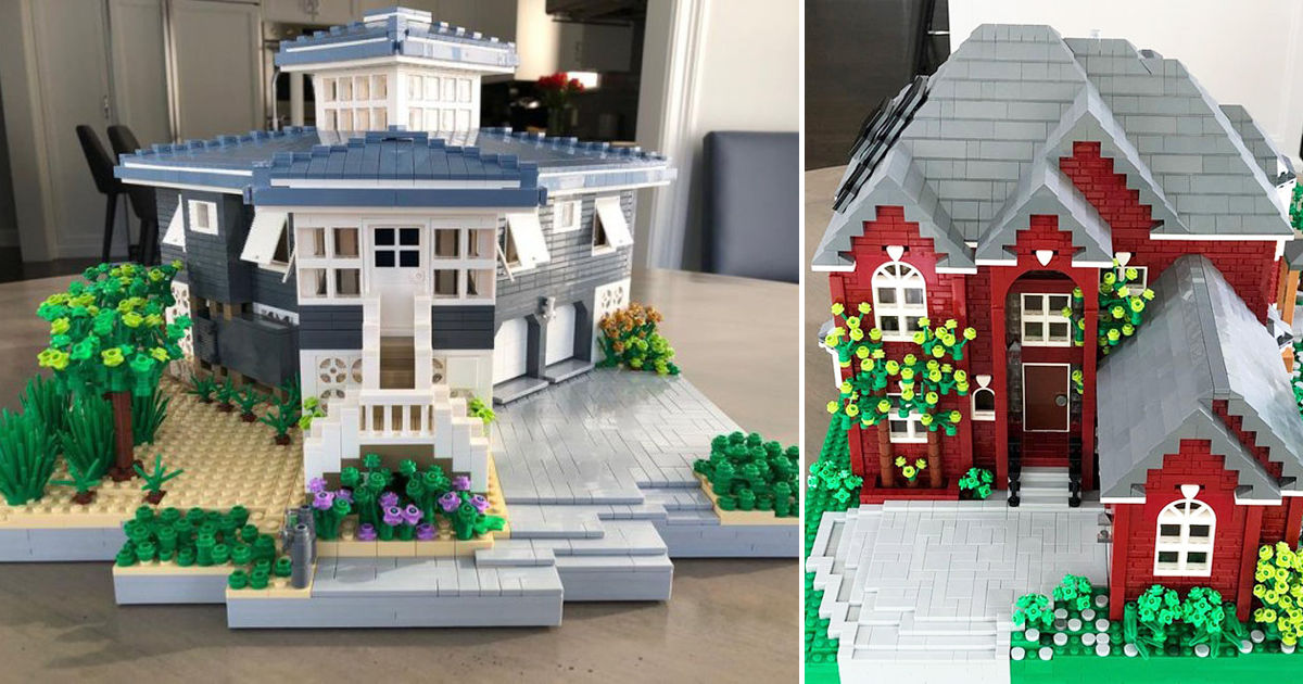 You Can Now Buy A LEGO Replica Of Your House