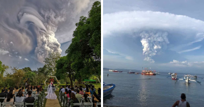 30 Pics Depict Power Of The Taal Volcano Which Just Erupted In The Philippines