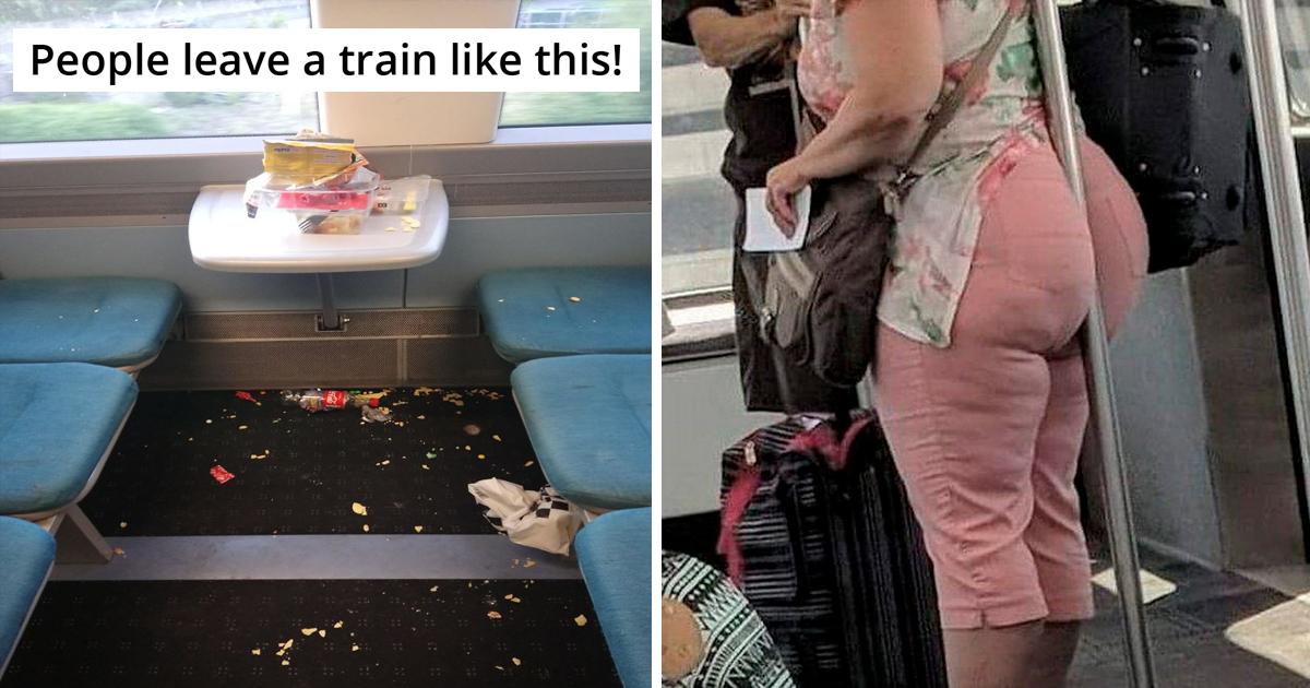 Subway passengers shaming of 30 worst jerks ever encountered.