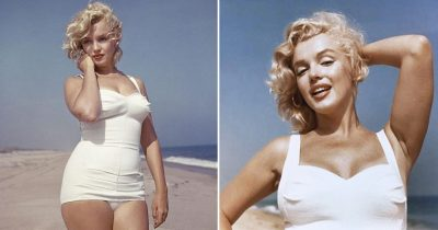 17 Gorgeous Pics Of Marilyn Monroe On The Beach Taken In 1957 By Sam Shaw