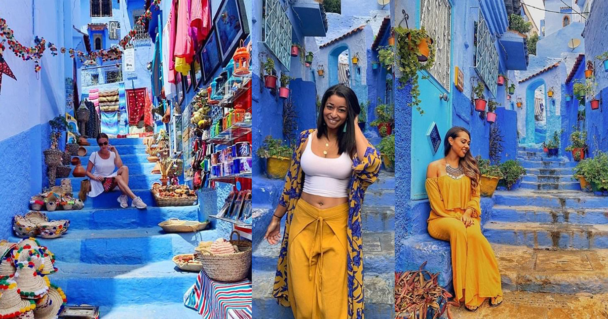Chefchaouen, In Morocco, Has Become World's Most Instagrammable City For Its Azure Blue Walls