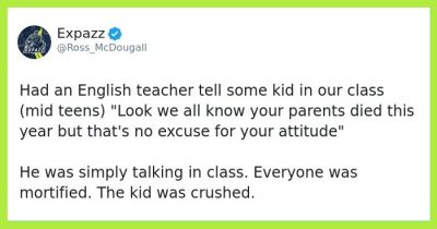30 People Share The Worst Stories About Their Teacher Has Done To Them
