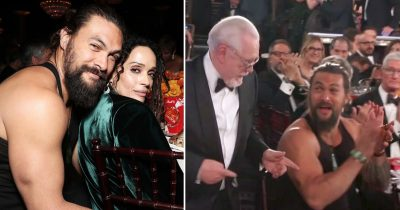 Jason Momoa Appeared In A Tank Top On Golden Globe Awards 2020 For A Sweet Reason