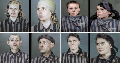 New Colourised Photos Of Auschwitz Prisoners Show The Horror Of The Holocaust
