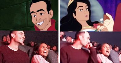 Guy Proposed Girlfriend By Hacking Her Favourite Disney Movie